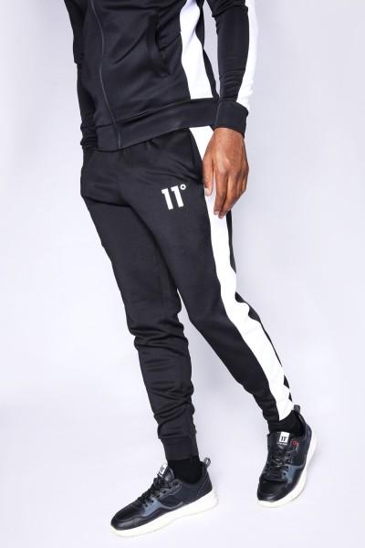 11 DEGREES - POLY PANEL broek men - zwart