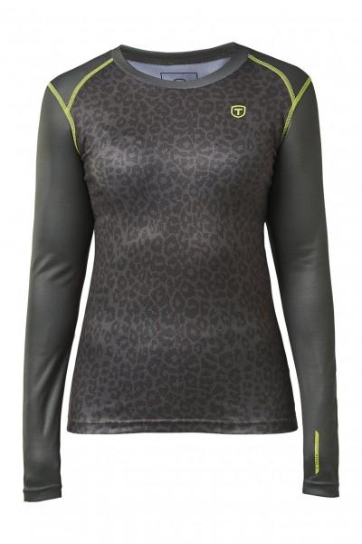 TENSON - BROOKE thermoshirt+broek women - grijs
