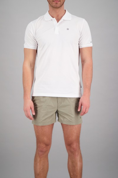 AIRFORCE - OUTLINE STAR polo - wit