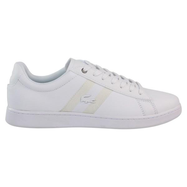 LACOSTE - CARNABY EVO Sneaker men - wit