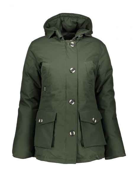 AIRFORCE - 4 POCKET HERRINGBONE jas - groen - rosing green, Haarlem, winterjas