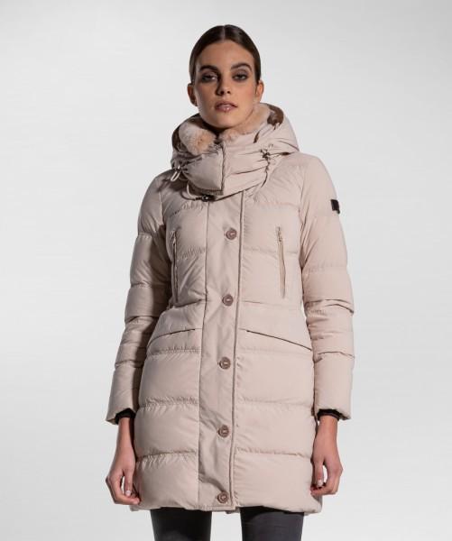 PEUTEREY - SCEPTRE winterjas dames - beige