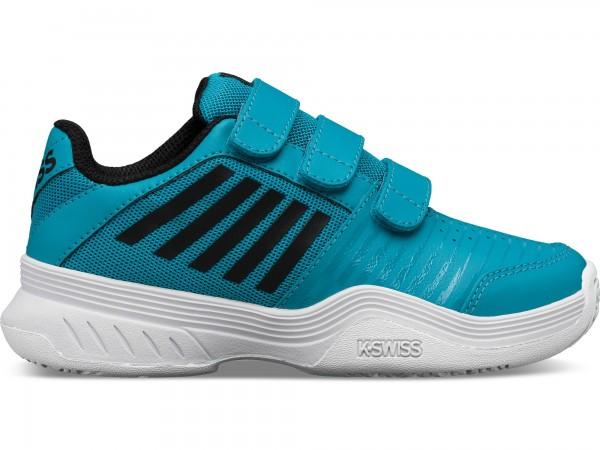 K-SWISS - Court Express Strap Omni Tennisschoen kids - blauw