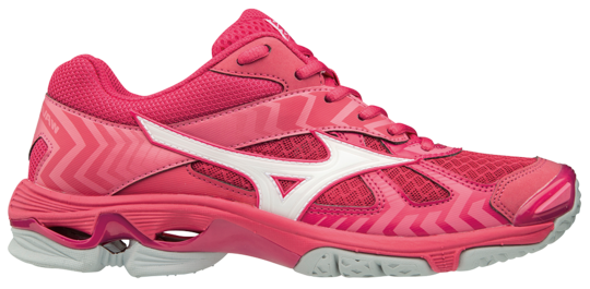 MIZUNO Dames hockeyschoen - Wave Bolt 7 roze