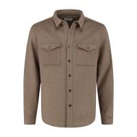 CIRCLE OF TRUST - JEFF overhemd heren - bruin