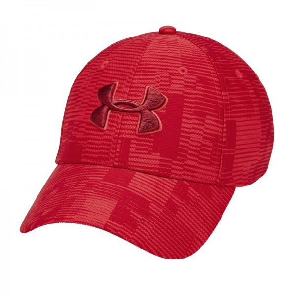 UNDER ARMOUR - PRINTED BLITZING cap - rood