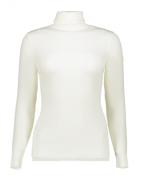 FUSALP - ANCELLE ski sweater - poudre - wit - women knit - Haarlem