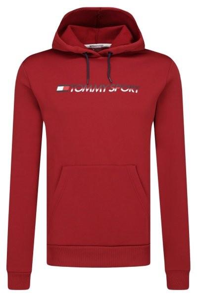 TOMMY - FLEECE sweater - bordeaux