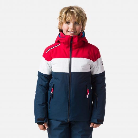 ROSSIGNOL - PADDED ski-jas boys - rood