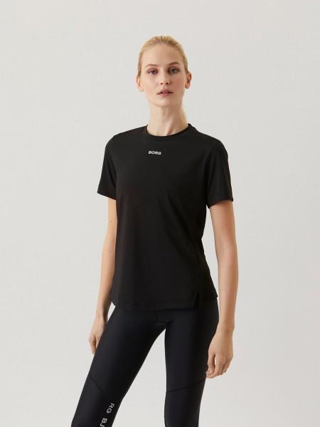 BJORN BORG - REGULAR trainingsshirt dames - zwart