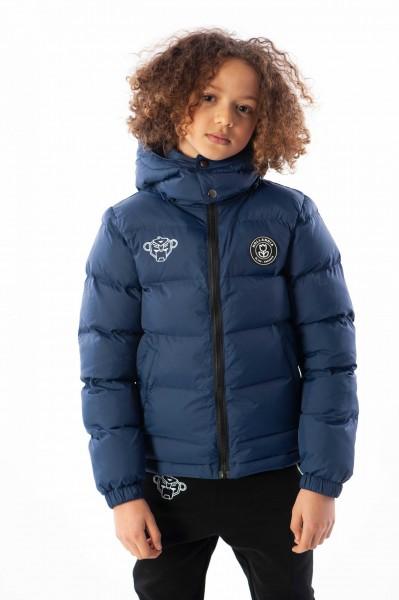 BLACK BANANAS - BUBBLE COAT kids - donkerblauw