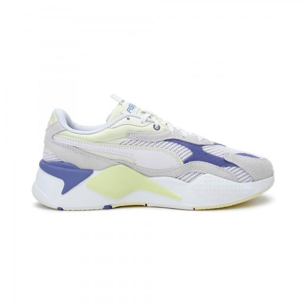 PUMA - RS-X TWILL AIRMESH sneakers women - wit/blauw