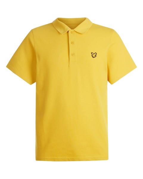 LYLE & SCOTT - SLEEVE polo - geel