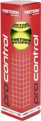 TRETORN - PRO CONTROL 4-PACK tennisbal - geel