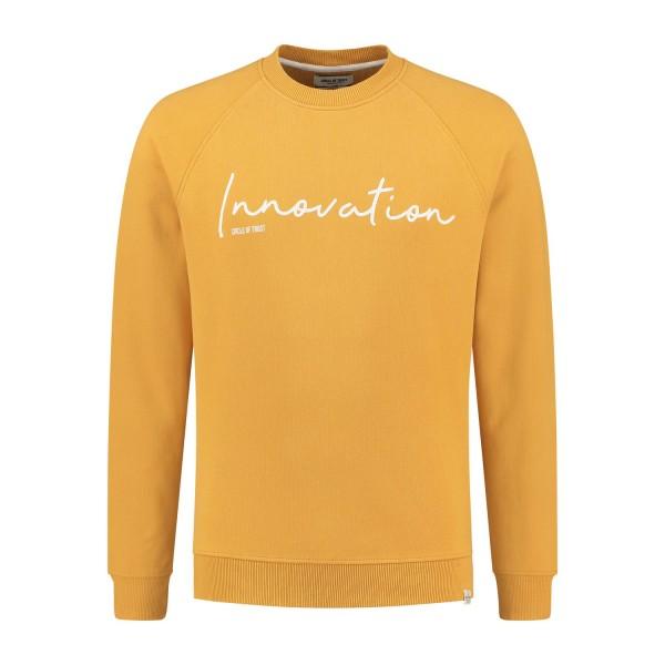 CIRCLE OF TRUST - ENNO Sweater men - geel