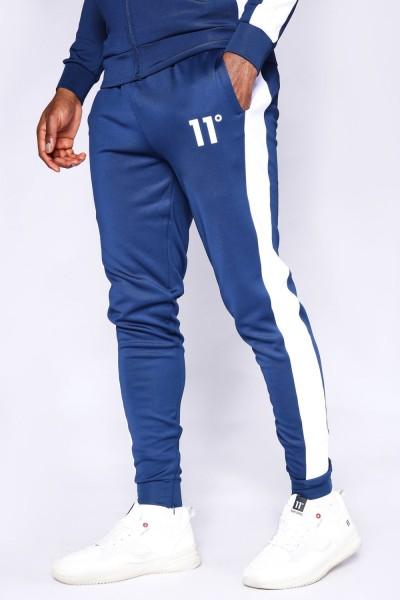 11 DEGREES - POLY PANEL broek men - blauw