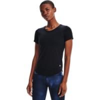 UNDER ARMOUR - STREAKER hardloopshirt women - zwart