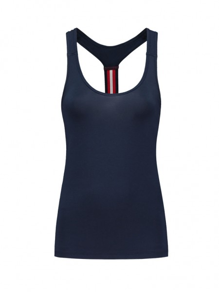 NIKKIE - STRIPE LOOSE top women - donkerblauw