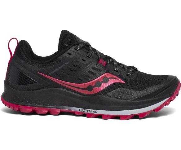 SAUCONY - PEREGRINE 10 schoenen - zwart