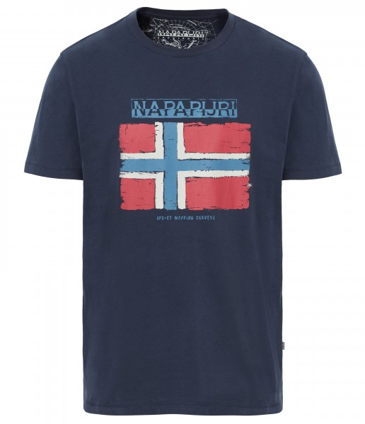 SADRIN T-shirt - marine blauw