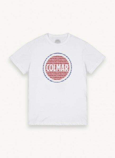 COLMAR - ORIGINALS MAXI-LOGO T-shirt - wit