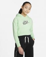 NIKE - SPORTSWEAR hoodie girls - groen
