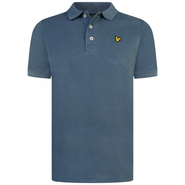 LYLE & SCOTT - CLASSIC POLO kids - blauw