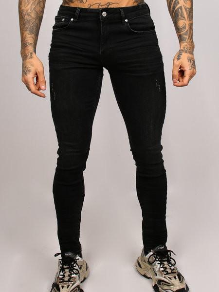 2LEGARE - NOAH jeans men - zwart