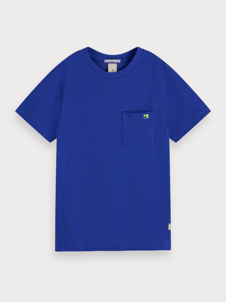 SCOTCH & SODA - PIQUE T-shirt - blauw