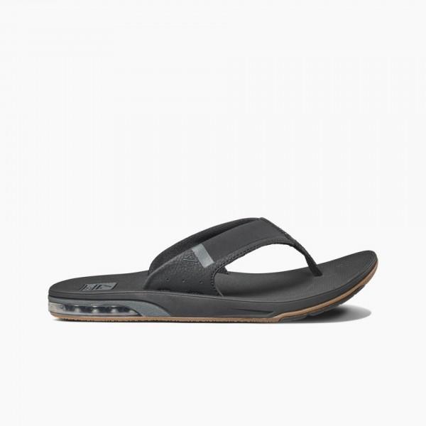 REEF - FANNING LOW slippers - zwart