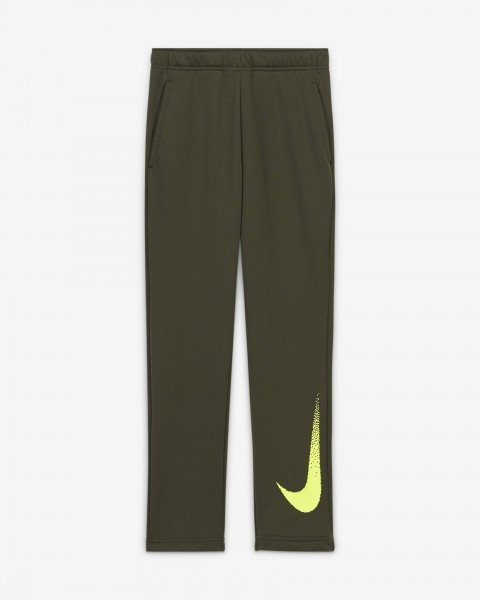 NIKE - DRI-FIT Fleecebroek boys - groen