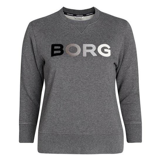 BJORN BORG - B SPORT CREW trui - grijs