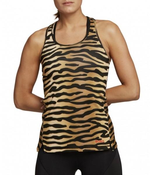 BJORN BORG - CLE Racerback Top - tiger