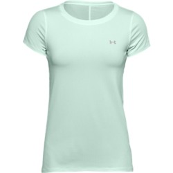 UNDER ARMOUR - HEATGEAR T-shirt women - blauw