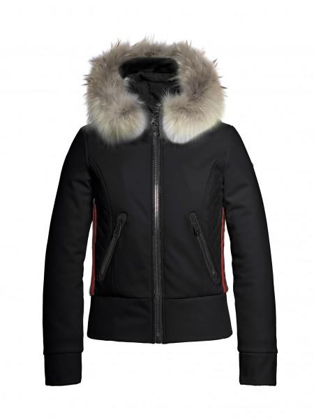 ALTEZZA fur jacket black