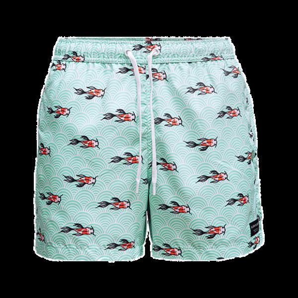 BJORN BORG - SYLVESTER zwemshort - licht groen