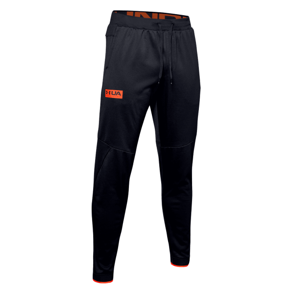 UNDER ARMOUR - FLEECE broek - zwart