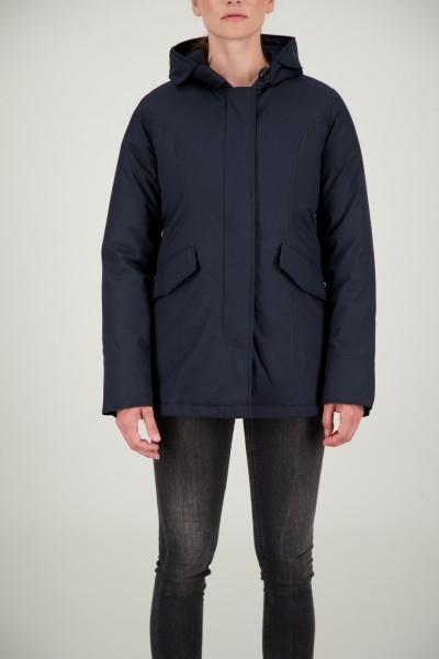 AIRFORCE - 2 POCKET HERRINGBONE jas women - donkerblauw