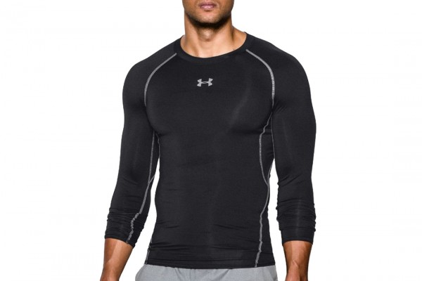 UNDER ARMOUR - COMPRESSION top men - zwart