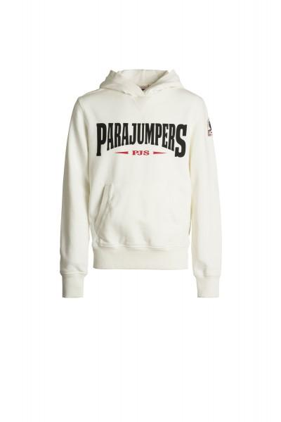 PARAJUMPERS - WALDO hoodie boys - wit