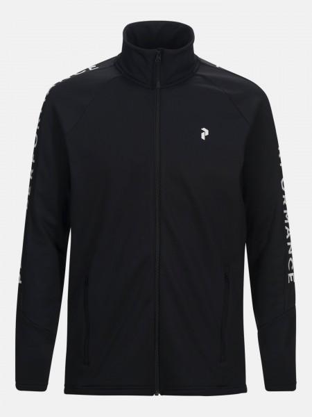 PEAK PERFORMANCE - RIDERZIP vest - zwart