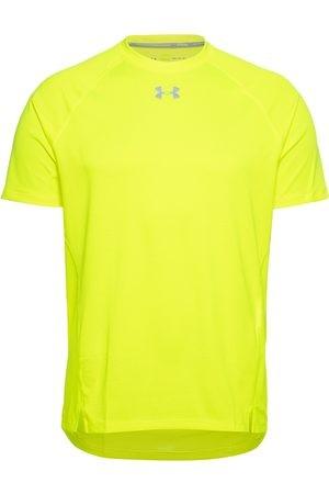 UNDER ARMOUR - QUALIFER T-shirt - geel