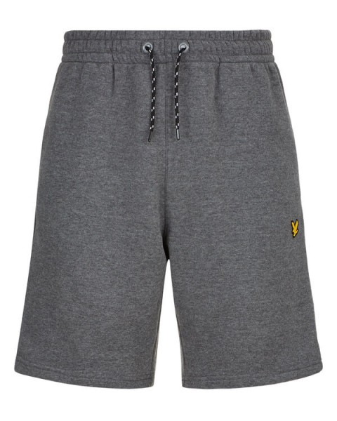 LYLE & SCOTT - FLEECE short - grijs - Haarlem