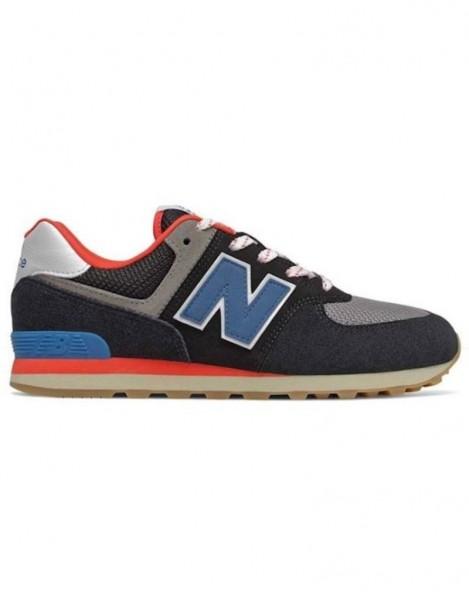 NEW BALANCE - 574 schoenen - zwart