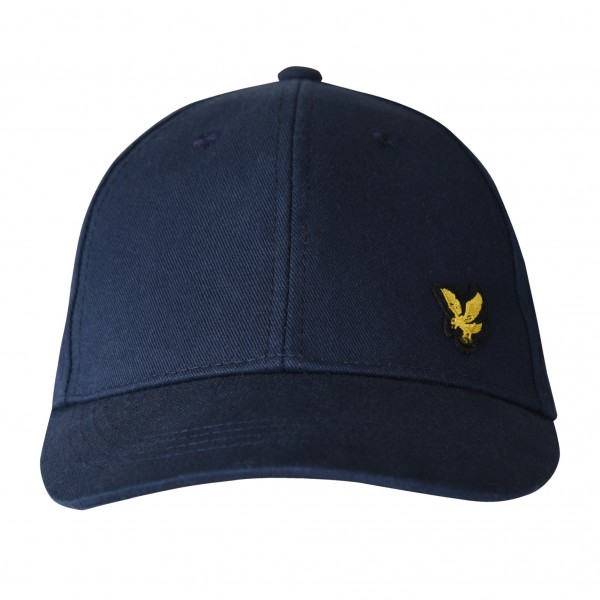 LYLE & SCOTT - KNIT cap kids - donkerblauw