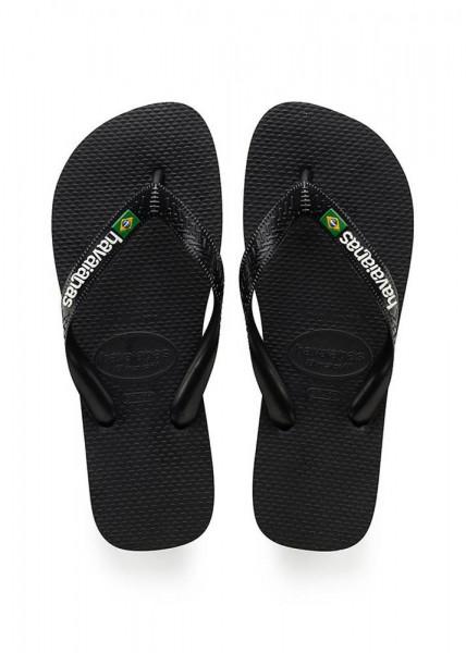 HAVAIANAS - BRASIL LOGO slippers men - zwart