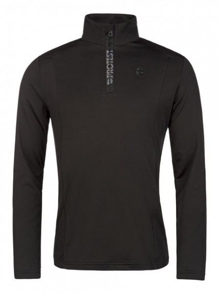 PROTEST - Willowy ski pulli - true black - zwart - Haarlem - 3710400