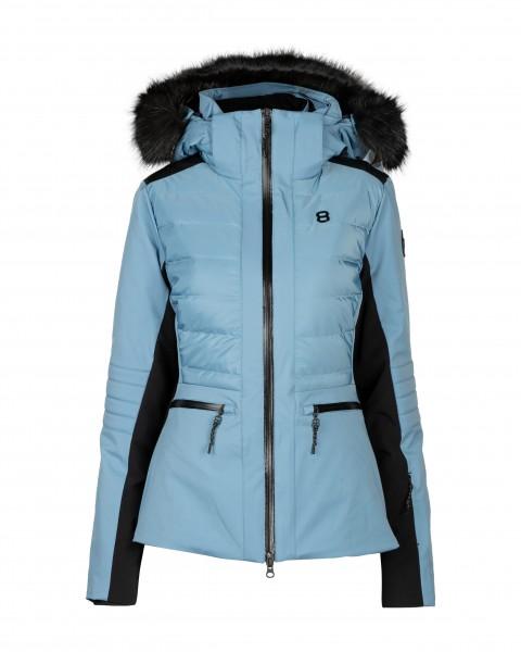 8848 ALTITUDE - CRISTAL ski-jas women - blauw