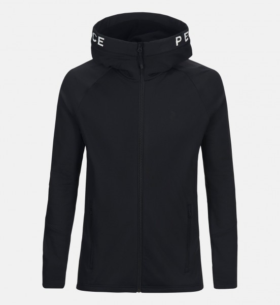 PEAK PERFORMANCE - RIDER ZIP hoodie- zwart
