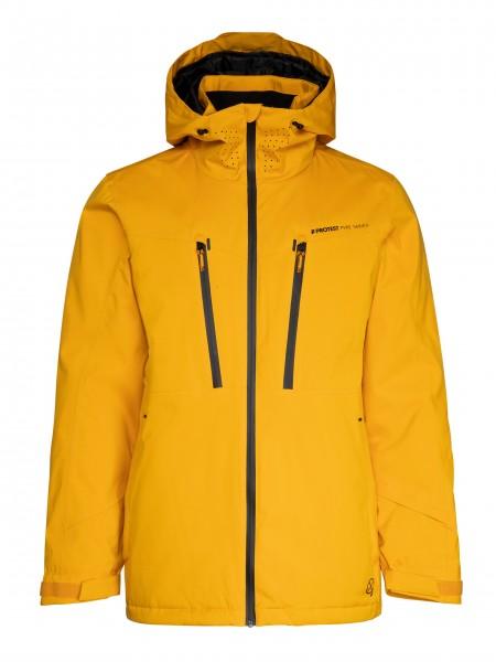 PROTEST - TIMO ski-jas men - geel